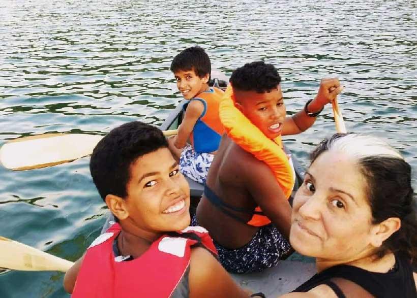"""Se buscan familias de acogida que quieran regalar unas """"Vacaciones en paz"""""""