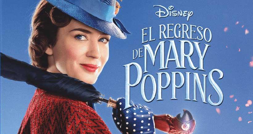 """La película """"El regreso de Mary Poppins"""", en versión original (VOSE)"""