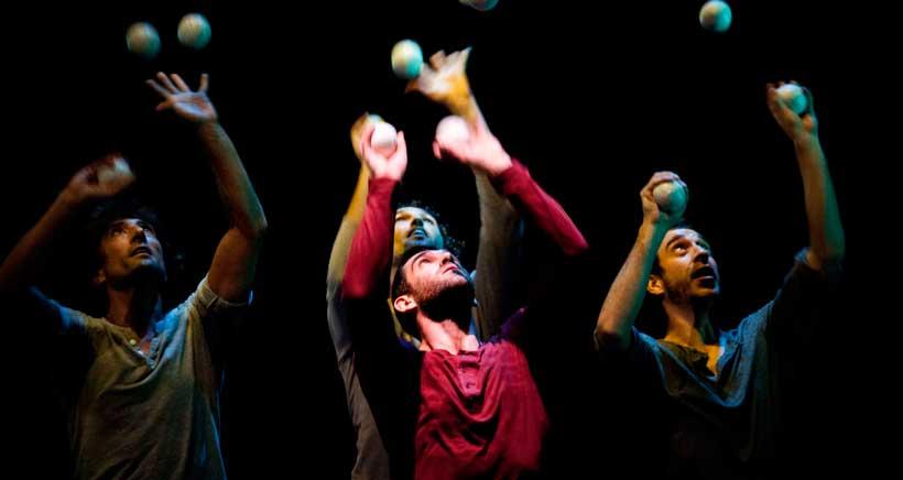 El circo contemporáneo de 'Sinergia 3.0′ inaugura Teatrea Primavera