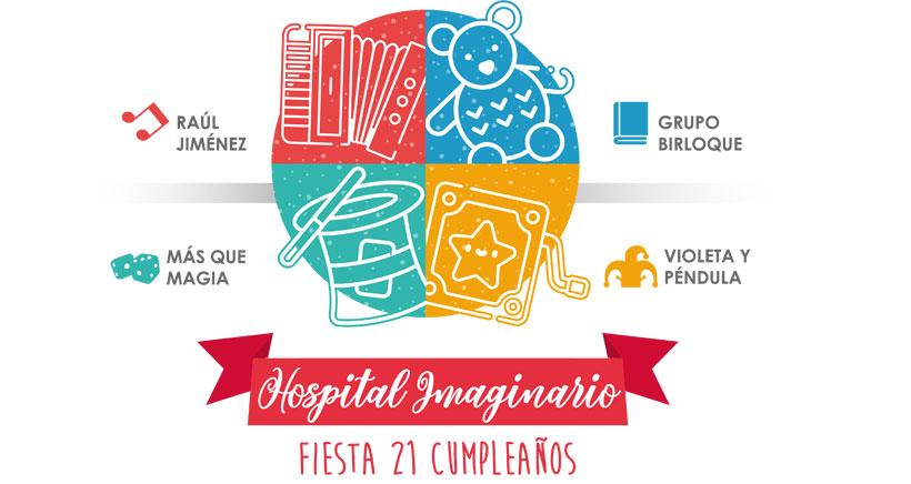Hospital Imaginario celebra una fiesta por su 21 aniversario