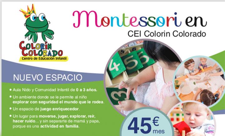 Aula Montessori para familias con bebés en Colorín Colorado