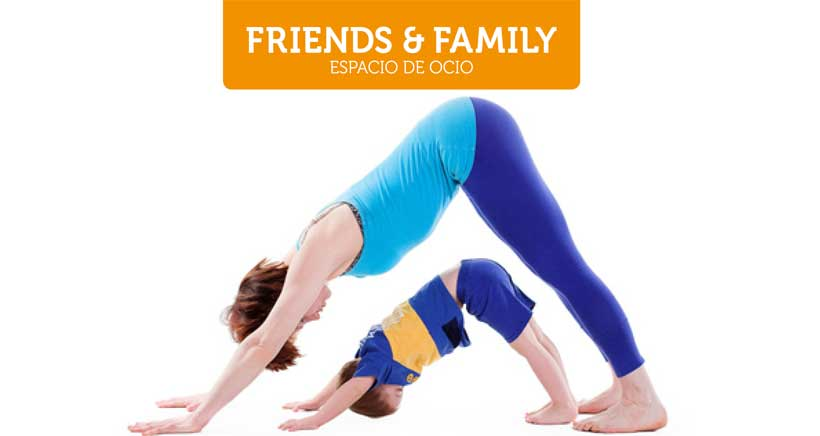 Yoga y brunch en familia, en Friends & Family