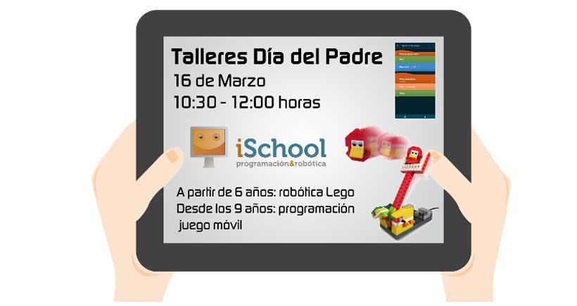 Especial Día del Padre: programa con papá en iSchool