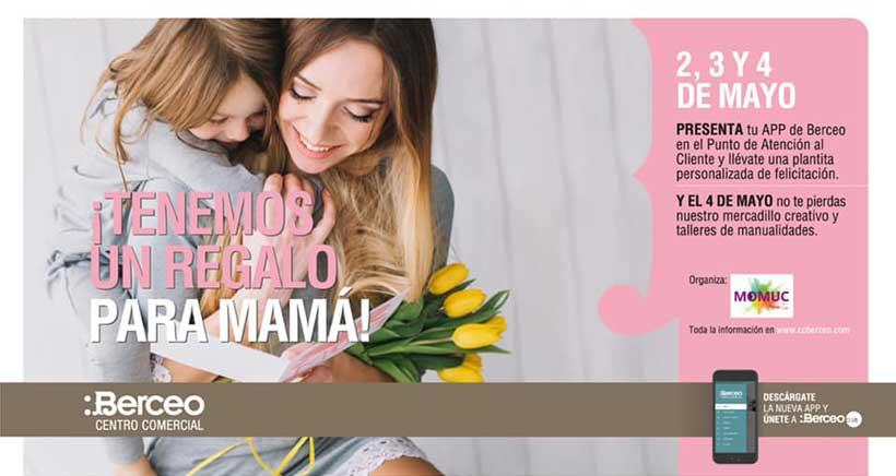 Plantas y manualidades para mamá, en Centro Comercial Berceo
