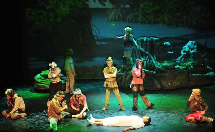 Peter Pan el musical, este sábado en Riojaforum