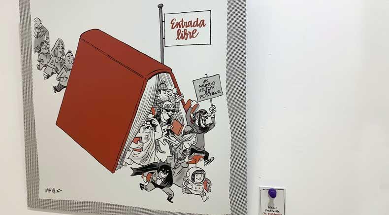 El humor gráfico y su visión sobre las bibliotecas