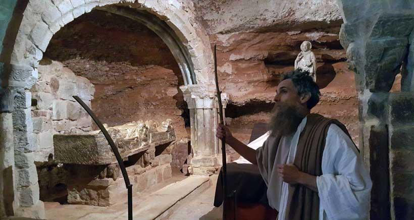 Microteatro en el Monasterio de Suso