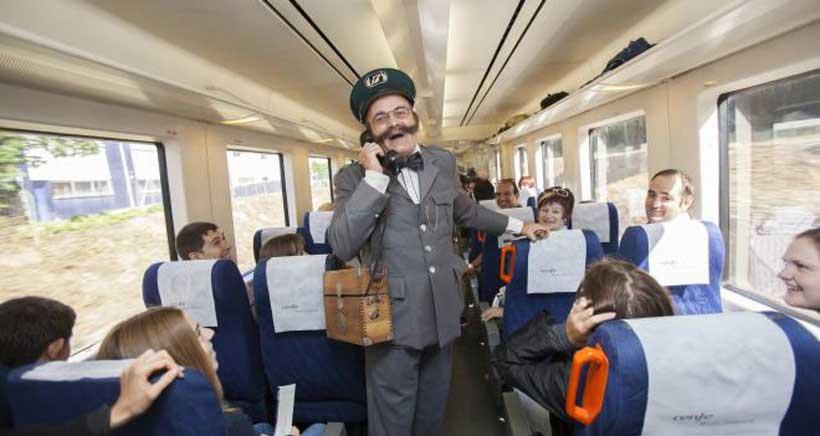Pasajeros al tren (del vino)
