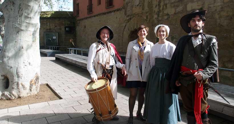 """""""Que vienen los franceses"""", un paseo teatralizado por Logroño de 1521"""