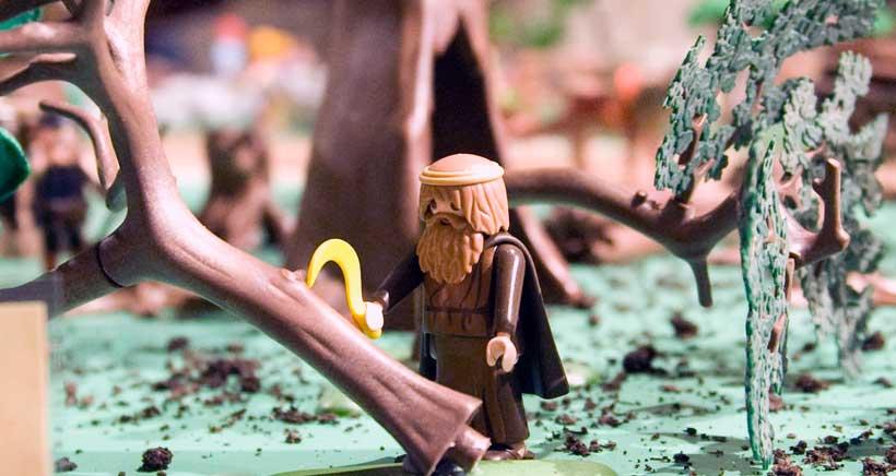Los Playmobil relatan los Milagros del Santo