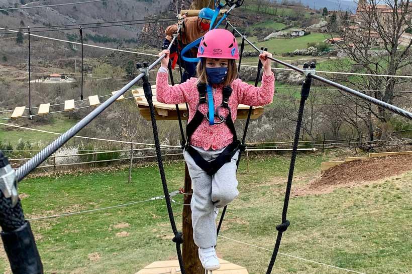 Deporte, diversión y naturaleza en Parque Aventura Sierra de Cameros