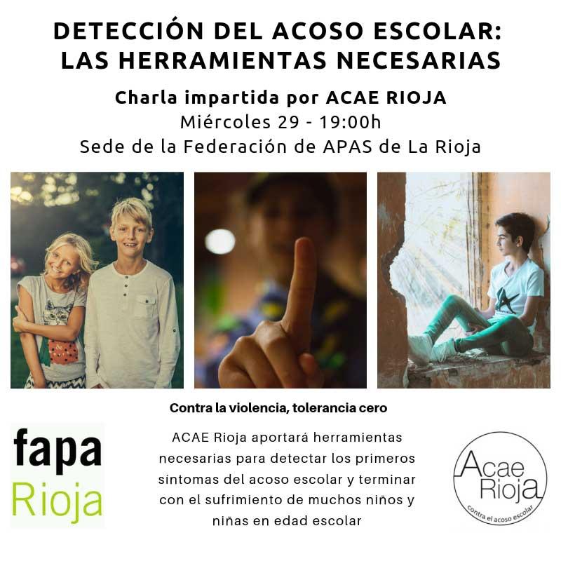 Charla-ACAE-Rioja-sobre-acoso-escolar