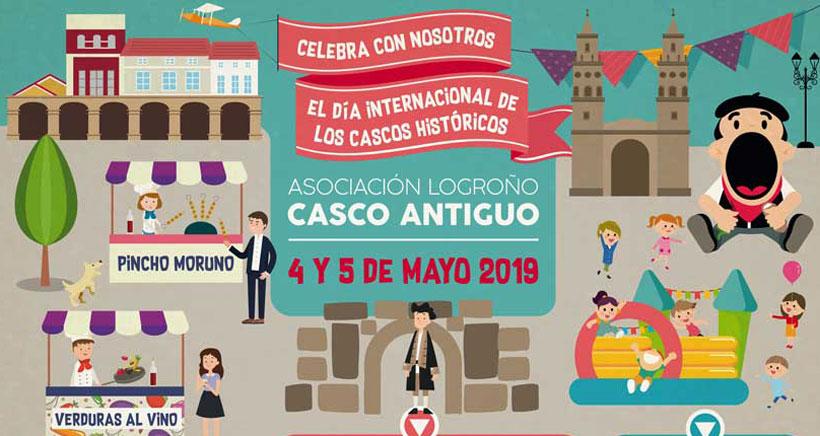 El Día Internacional de los Cascos Históricos se celebra en Logroño