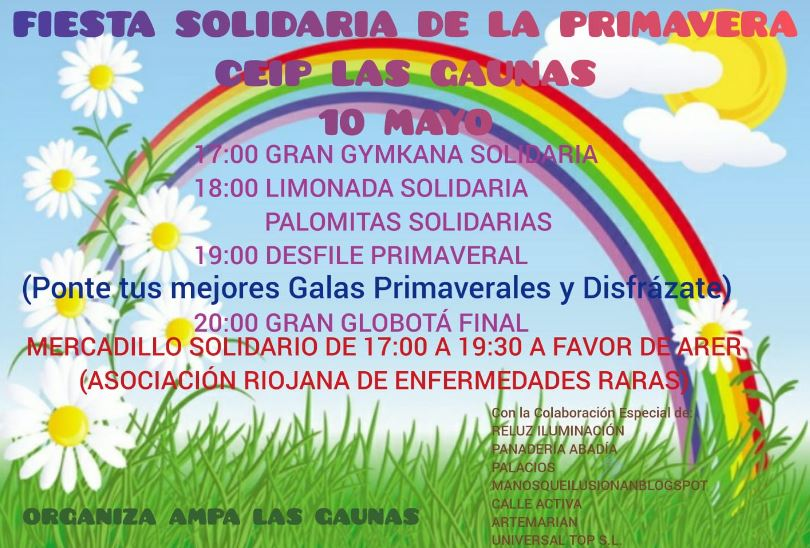 Fiesta solidaria Las Gaunas
