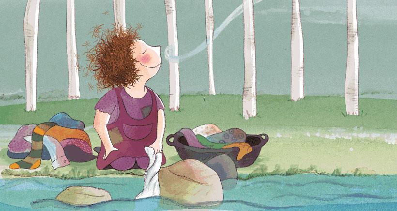 'Katius, la niña del arroyo', un cuento con música en directo