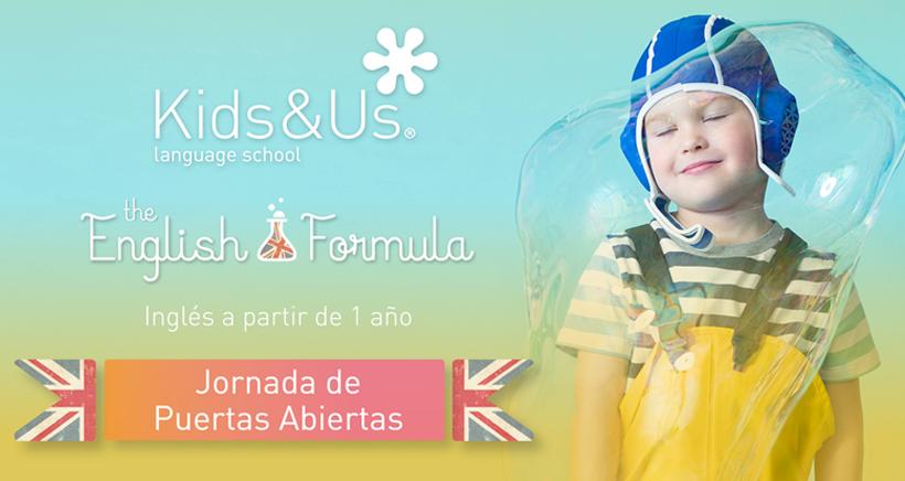 Entra y descubre cómo aprenden inglés en Kids&Us Logroño