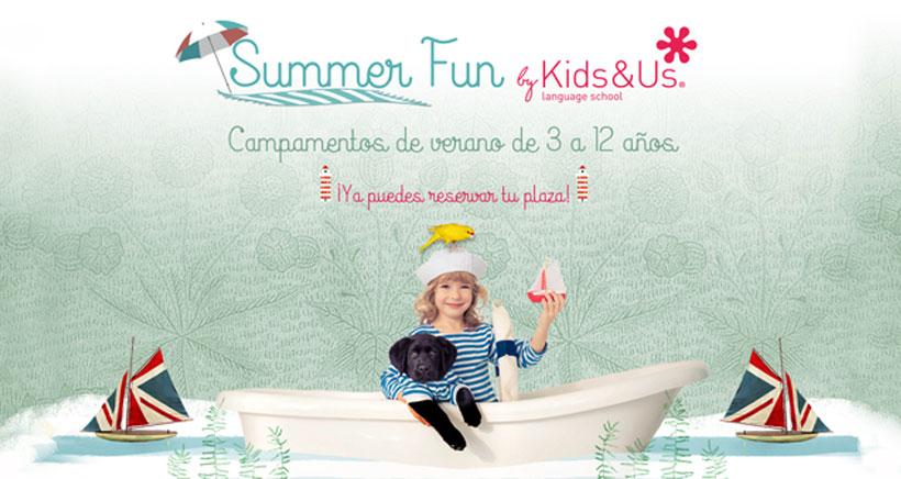 Y tú, ¿qué vas a hacer este verano? Apúntate a los Summer Fun de Kids&Us