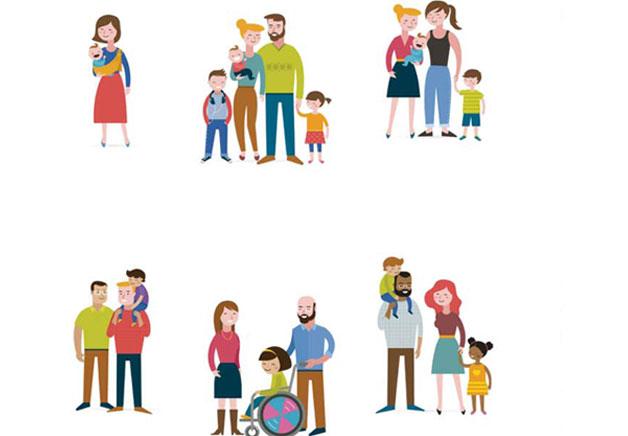 jornadas sobre educacion afectivo sexual y diversidad familiar - etiquetas para cuadernos de fortnite para imprimir
