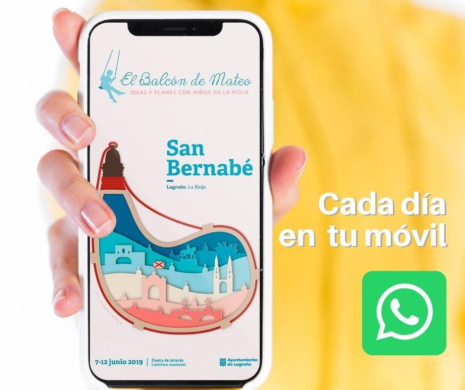 Whatsapp El Balcón de Mateo
