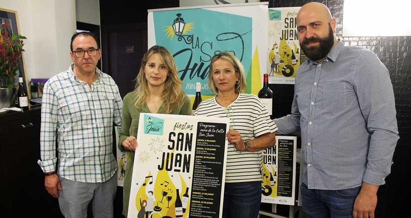 La calle San Juan celebra junio con actuaciones musicales y actividades para niños