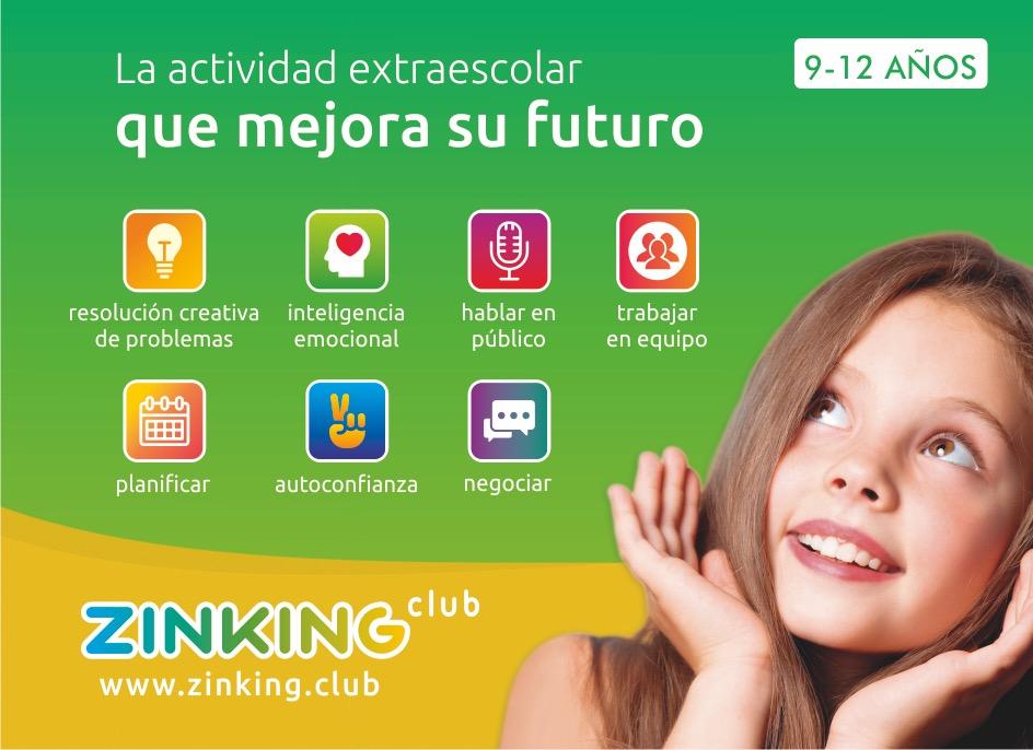 Zinking Club, desarrollo de habilidades personales
