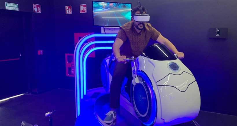 Probamos la realidad virtual de Immotion, en Xperience Parque Rioja