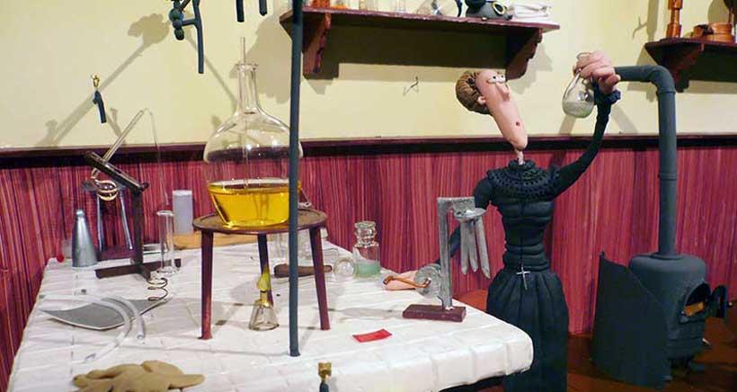 La historia de la ciencia contada en plastilina
