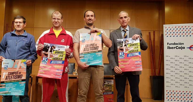 El Club Maratón Rioja presenta su primer campus de Atletismo