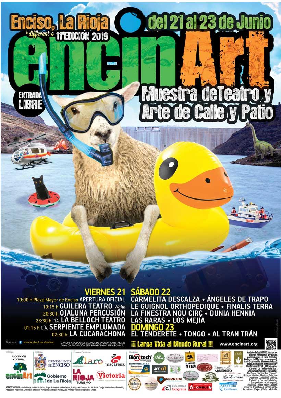 cartel ENCINART2019