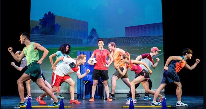 El musical de 'Los futbolísimos' este domingo en el Bretón
