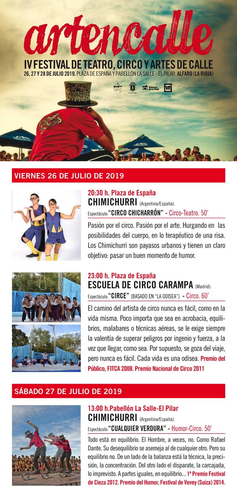 Artencalle Alfaro 2019
