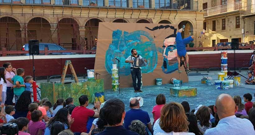 El 18ª Festival de Circo de Navarra llegará a Viana el sábado 31 de agosto