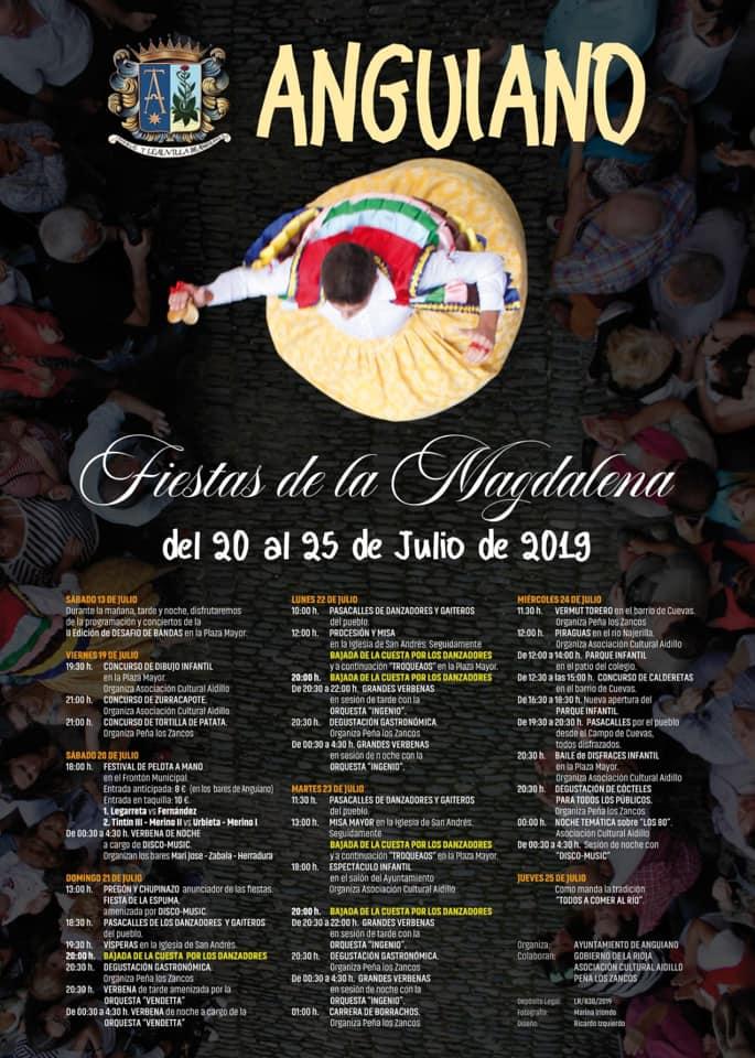 Fiestas de la Magdalena Anguiano