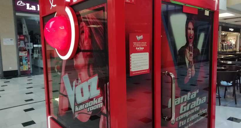 Karaoke-La-Voz centro comercial berceo