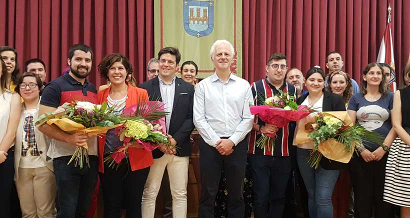 Noelia Heras y Cristian Ortega, serán los Vendimiadores de San Mateo 2019