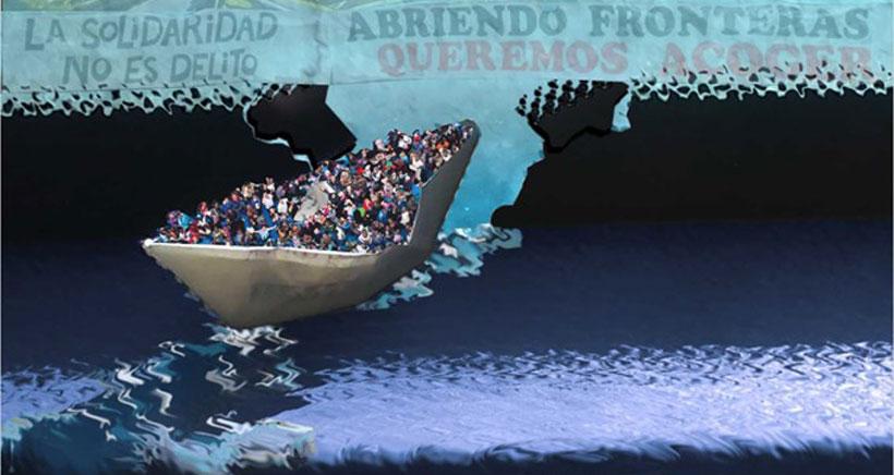 El viaje de las personas migrantes a través del teatro y la danza