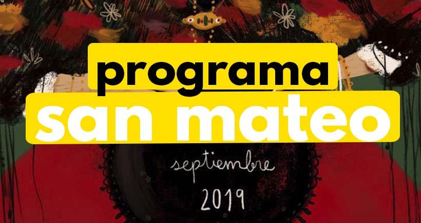 Programa de Fiestas de San Mateo 2019 ¡Especial con Niños!