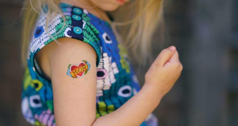 """Mural Open invita a los niños a convertirse en """"tatuadores por un día"""""""