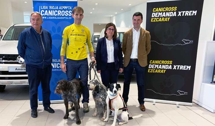 """7ª Liga """"Rioja Adopta"""" de Canicross, mucho más que un deporte"""