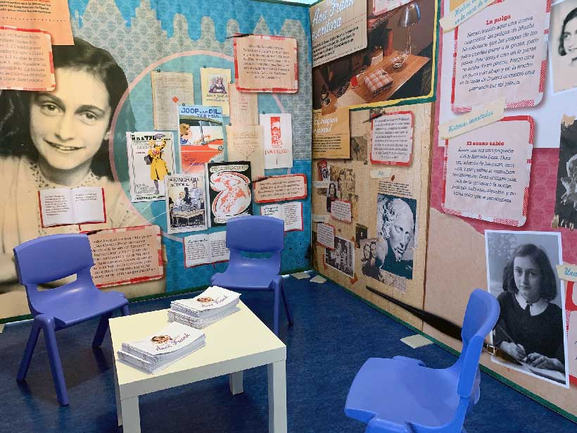 Exposicion Ana Frank en Logroño