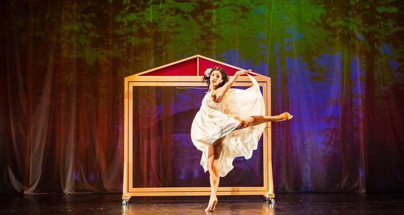 ¿Quién teme al lobo feroz? Espectáculo infantil de danza y ballet en Viana