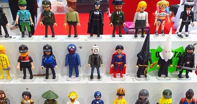 Exposición y venta de Playmobil en Parque Rioja