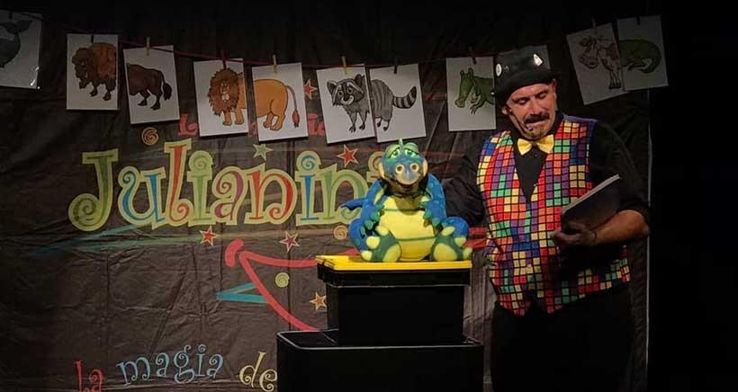 Magia y humor en familia con el Mago Julianini
