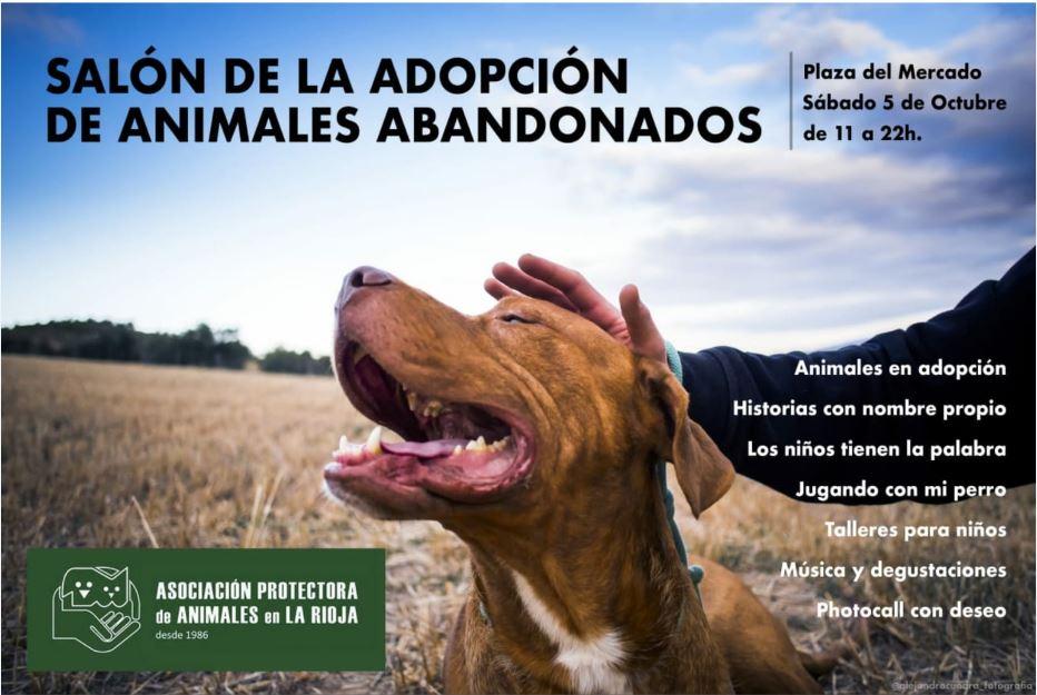 salon-adopcion-animales-protectora-rioja cartel
