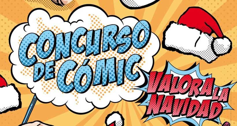 El Ayuntamiento lanza el concurso de cómic para jóvenes 'Valora tu Navidad'