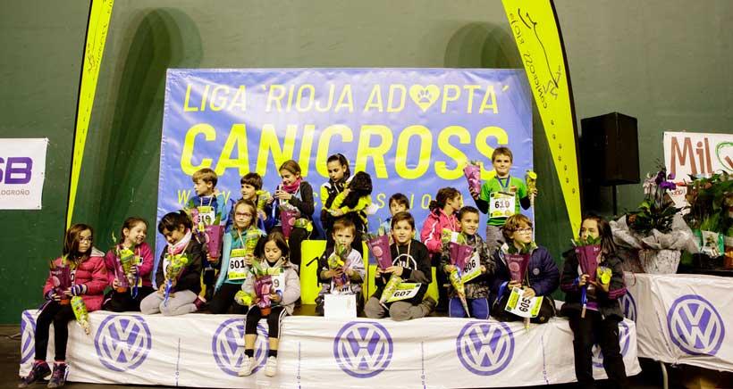 Récord de participación en el Canicross de Logroño