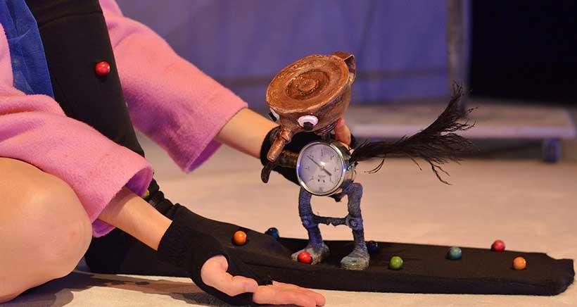 La obra para la primera infancia 'Pequeña Max' clausura Teatrea