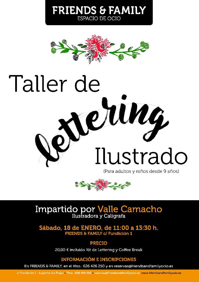Taller-de-lettering-ilustrado-Friends-family