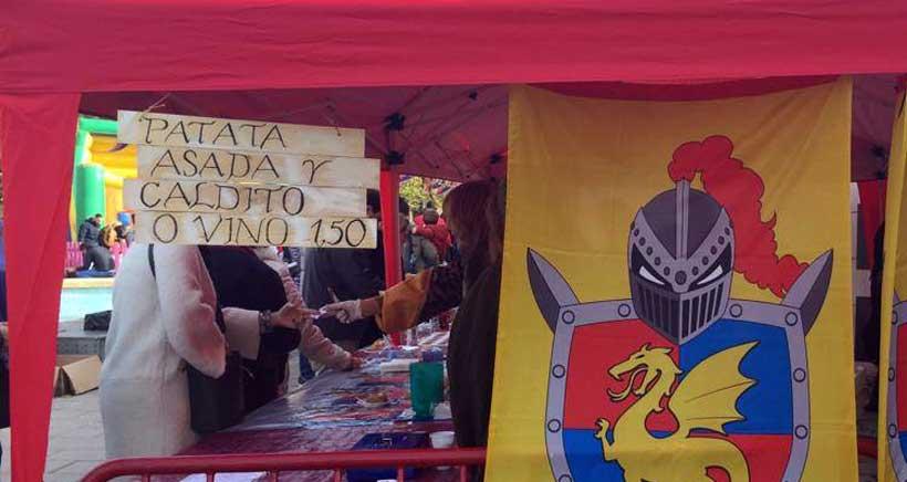 Festival medieval de la Patata Asada, en el parque San Adrián
