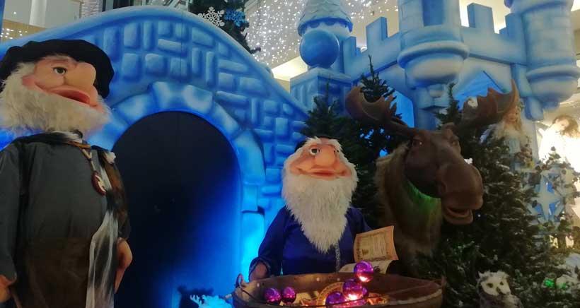 Comienza la Navidad en el centro comercial Berceo